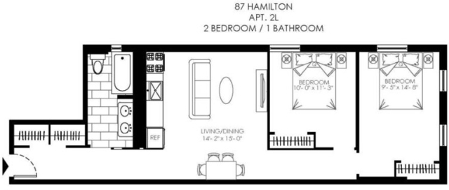2 Bedrooms, Hamilton Heights Rental in NYC for $2,778 - Photo 2