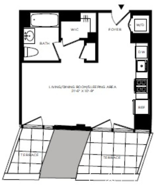 Studio, Hell's Kitchen Rental in NYC for $3,110 - Photo 2