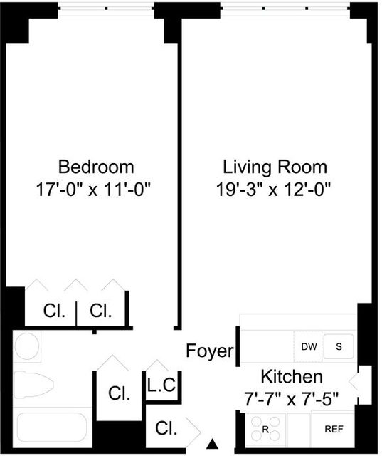 1 Bedroom, Turtle Bay Rental in NYC for $2,579 - Photo 2