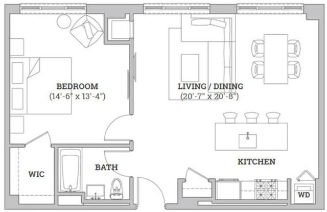1 Bedroom, Flatbush Rental in NYC for $3,460 - Photo 2