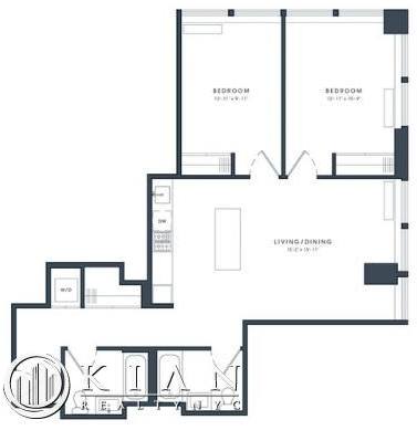 2 Bedrooms, Financial District Rental in NYC for $6,375 - Photo 2