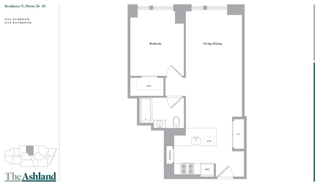 1 Bedroom, Fort Greene Rental in NYC for $3,598 - Photo 2