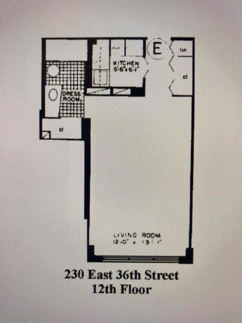 Studio, Murray Hill Rental in NYC for $2,775 - Photo 2