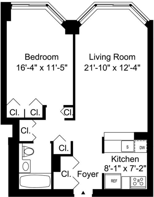 1 Bedroom, Murray Hill Rental in NYC for $4,183 - Photo 2