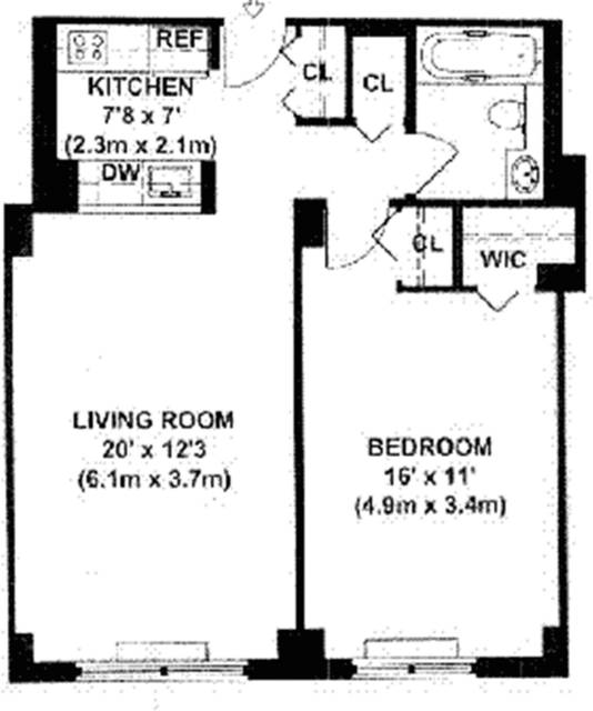 1 Bedroom, Tribeca Rental in NYC for $3,850 - Photo 2
