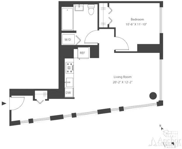 1 Bedroom, Astoria Rental in NYC for $2,796 - Photo 2