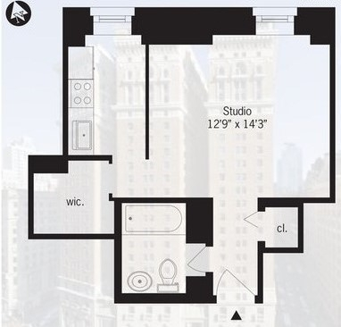 Studio, Koreatown Rental in NYC for $2,625 - Photo 2