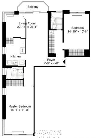 2 Bedrooms, Theater District Rental in NYC for $5,650 - Photo 2