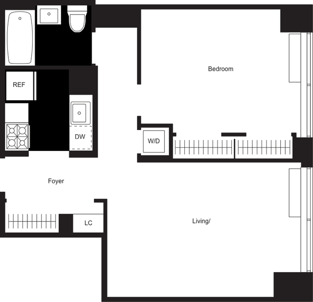 1 Bedroom, Chelsea Rental in NYC for $5,130 - Photo 2