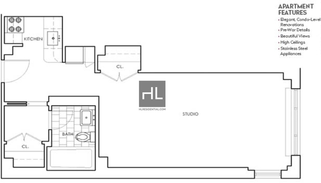 Studio, Murray Hill Rental in NYC for $3,230 - Photo 2