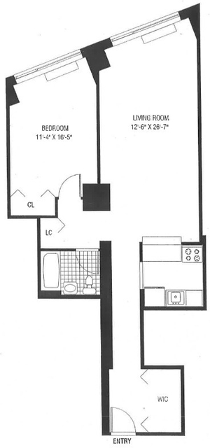1 Bedroom, Battery Park City Rental in NYC for $4,220 - Photo 1