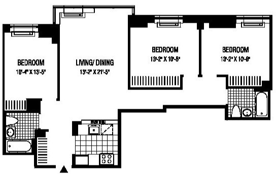 3 Bedrooms, Financial District Rental in NYC for $6,734 - Photo 2
