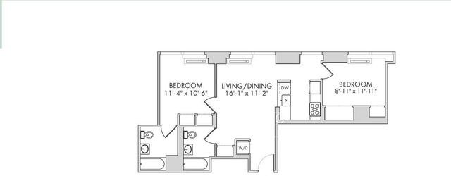 2 Bedrooms, Chelsea Rental in NYC for $6,606 - Photo 2