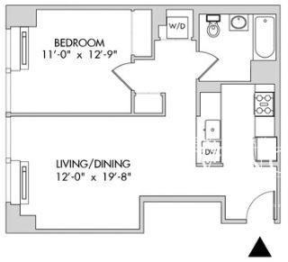 1 Bedroom, Chelsea Rental in NYC for $4,354 - Photo 2