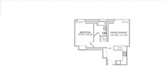 1 Bedroom, Chelsea Rental in NYC for $4,210 - Photo 2
