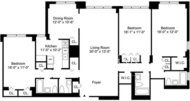 3 Bedrooms, Sutton Place Rental in NYC for $8,245 - Photo 2