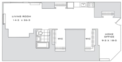 Studio, Financial District Rental in NYC for $3,895 - Photo 2