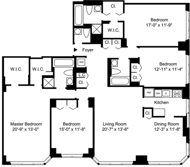 5 Bedrooms, Upper East Side Rental in NYC for $14,117 - Photo 2