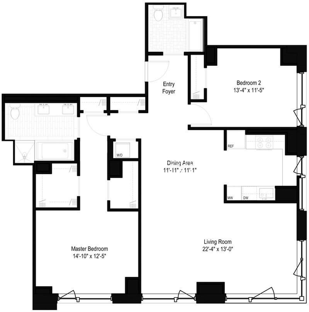 2 Bedrooms, Yorkville Rental in NYC for $9,295 - Photo 2