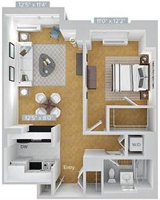 1 Bedroom, Hunters Point Rental in NYC for $3,658 - Photo 1