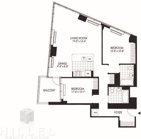 2 Bedrooms, Hunters Point Rental in NYC for $5,170 - Photo 2