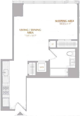 Studio, Murray Hill Rental in NYC for $3,877 - Photo 2