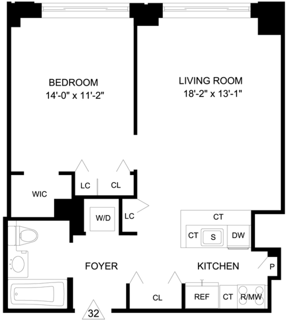 1 Bedroom, Garment District Rental in NYC for $3,565 - Photo 2