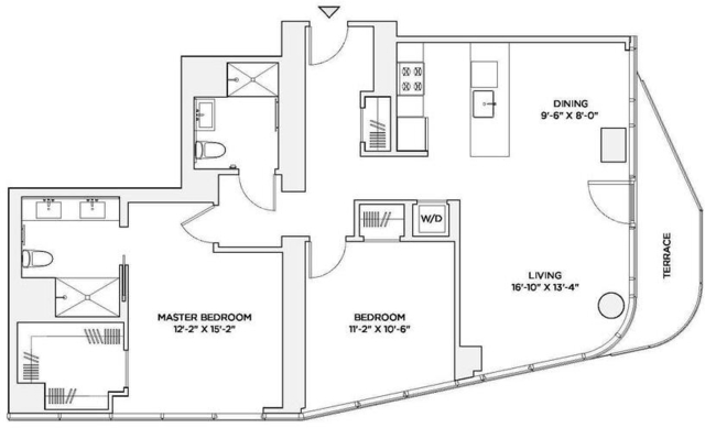 2 Bedrooms, Theater District Rental in NYC for $7,500 - Photo 2