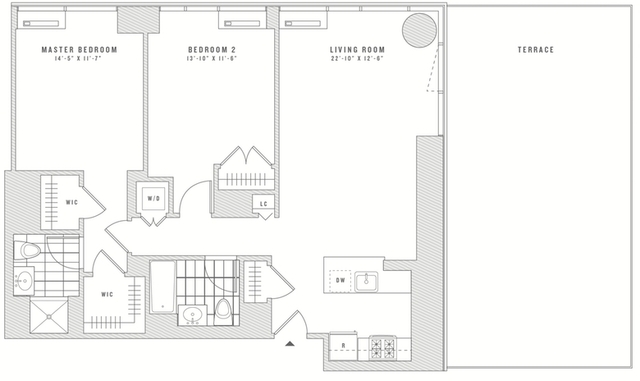 2 Bedrooms, Chelsea Rental in NYC for $9,932 - Photo 1