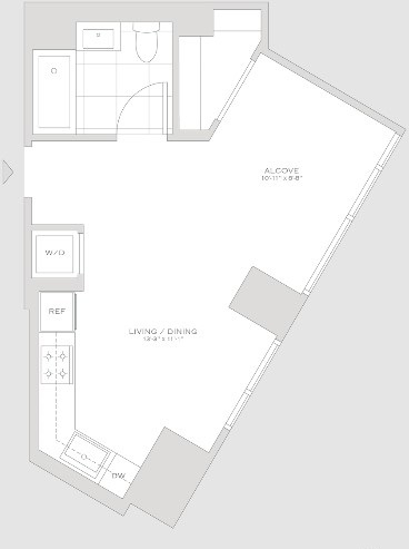 Studio, Turtle Bay Rental in NYC for $3,231 - Photo 2