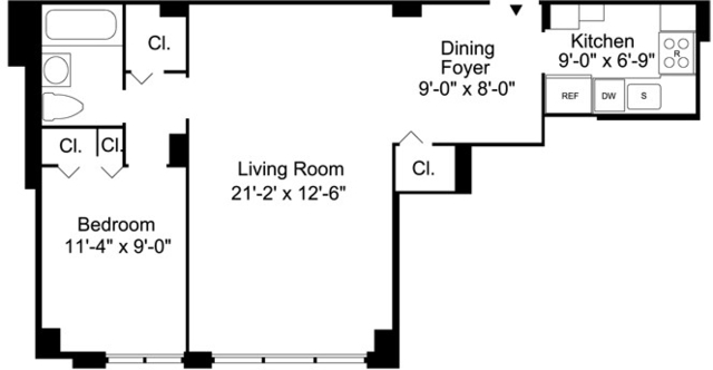 1 Bedroom, Upper East Side Rental in NYC for $3,020 - Photo 2