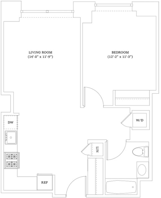 1 Bedroom, Hell's Kitchen Rental in NYC for $3,492 - Photo 2