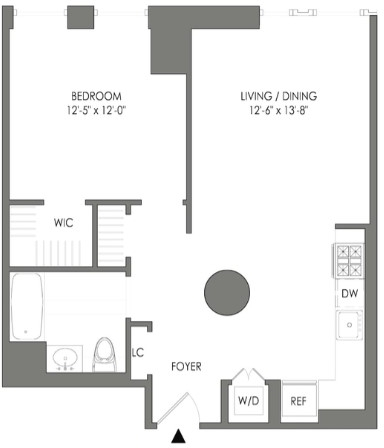 1 Bedroom, Long Island City Rental in NYC for $3,029 - Photo 2