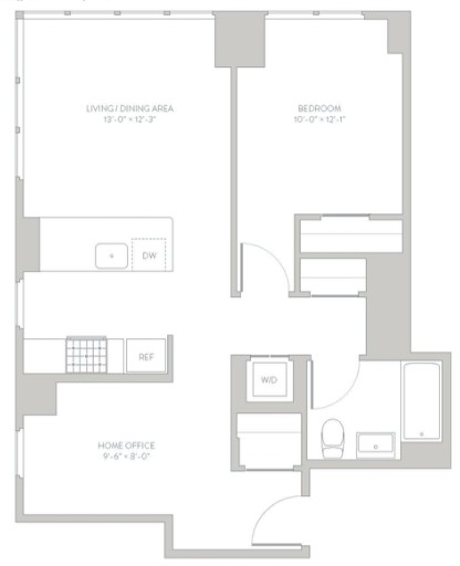 1 Bedroom, Long Island City Rental in NYC for $3,349 - Photo 2