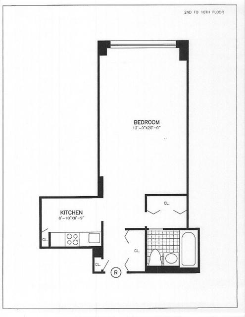Studio, Chelsea Rental in NYC for $2,595 - Photo 2