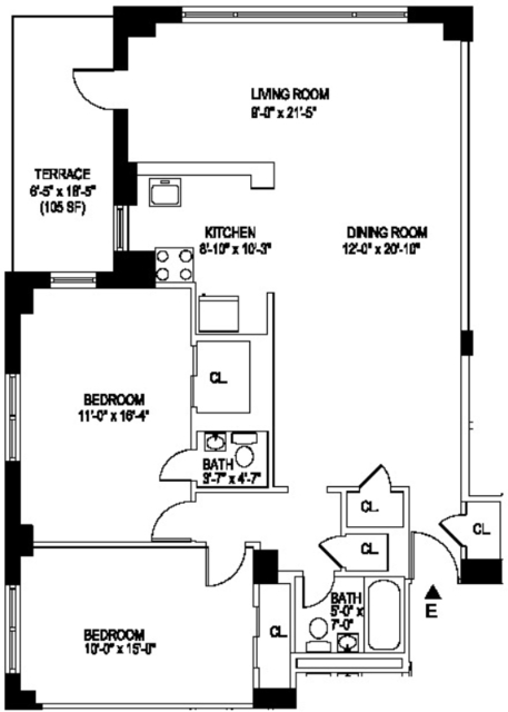 2 Bedrooms, Manhattan Valley Rental in NYC for $5,240 - Photo 2