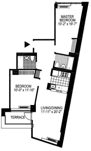 2 Bedrooms, Financial District Rental in NYC for $5,038 - Photo 2