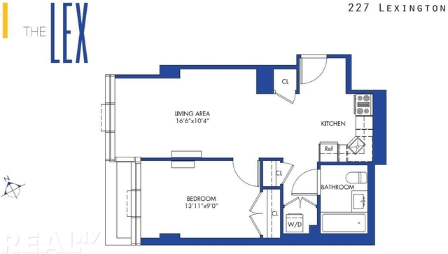 2 Bedrooms, Rose Hill Rental in NYC for $4,550 - Photo 2