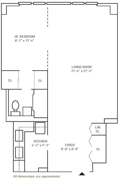 Studio, Forest Hills Rental in NYC for $2,085 - Photo 2