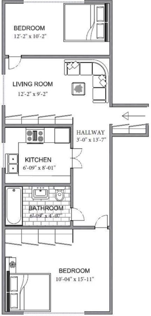 2 Bedrooms, Turtle Bay Rental in NYC for $3,550 - Photo 2
