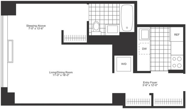 Studio, Chelsea Rental in NYC for $4,035 - Photo 2