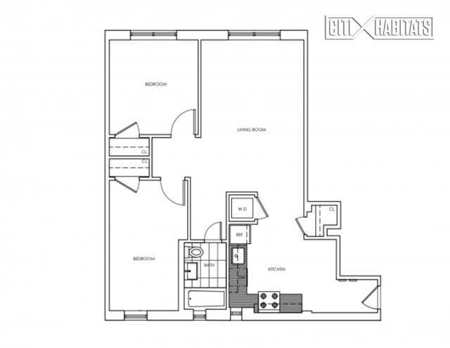 2 Bedrooms, Chelsea Rental in NYC for $6,134 - Photo 2