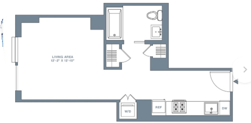 Studio, Financial District Rental in NYC for $3,583 - Photo 2