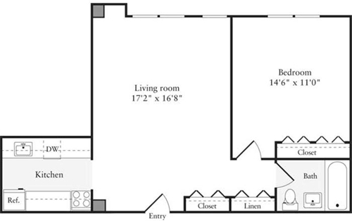 1 Bedroom, Upper West Side Rental in NYC for $3,716 - Photo 2