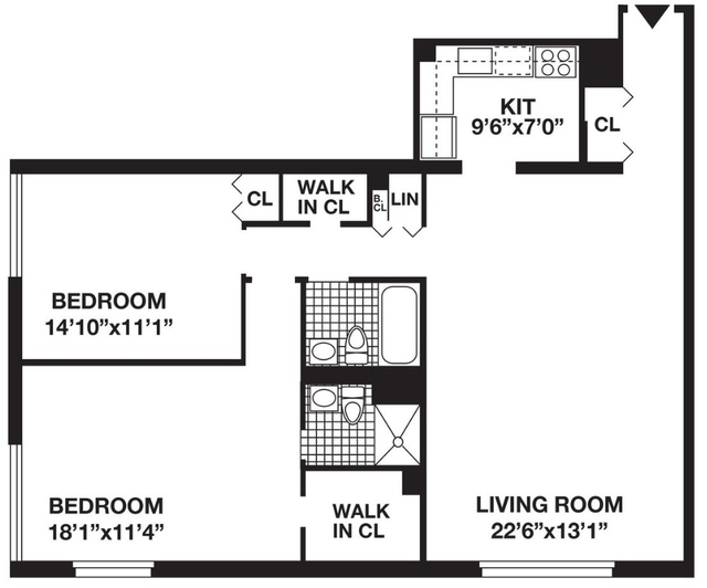 2 Bedrooms, Battery Park City Rental in NYC for $6,099 - Photo 2