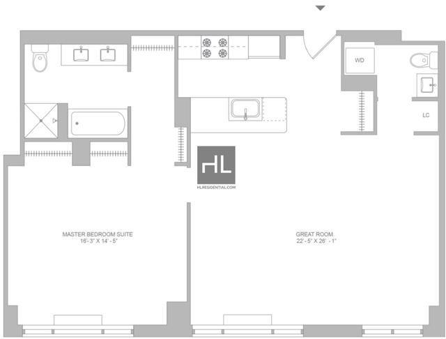 1 Bedroom, SoHo Rental in NYC for $8,995 - Photo 2