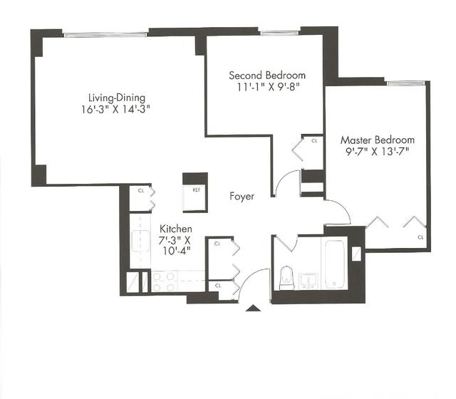 2 Bedrooms, Kips Bay Rental in NYC for $3,750 - Photo 2