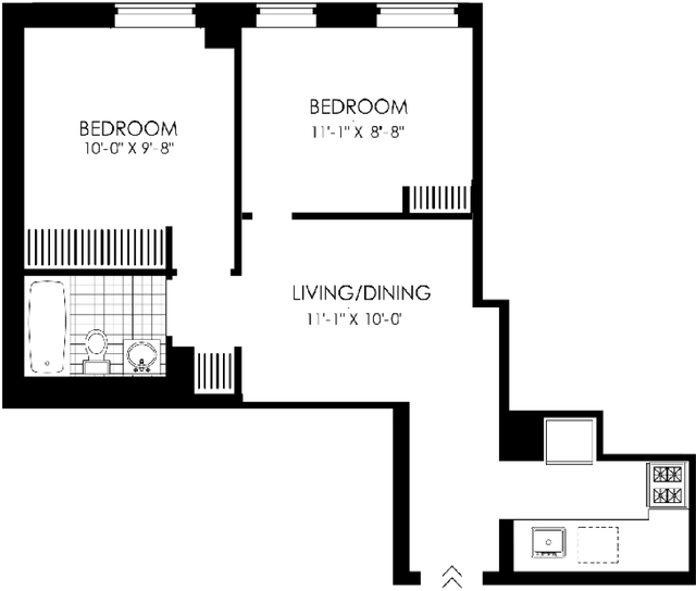 1 Bedroom, Hell's Kitchen Rental in NYC for $3,042 - Photo 2