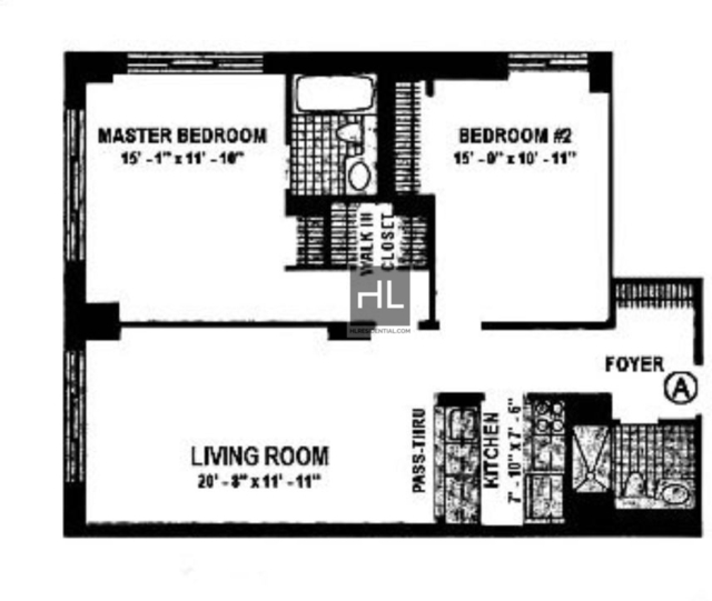 2 Bedrooms, Theater District Rental in NYC for $5,195 - Photo 2