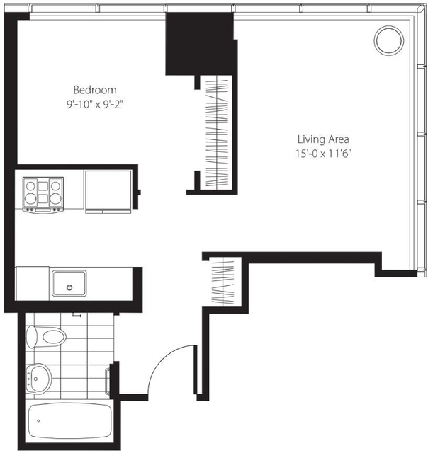 1 Bedroom, Lincoln Square Rental in NYC for $3,960 - Photo 1